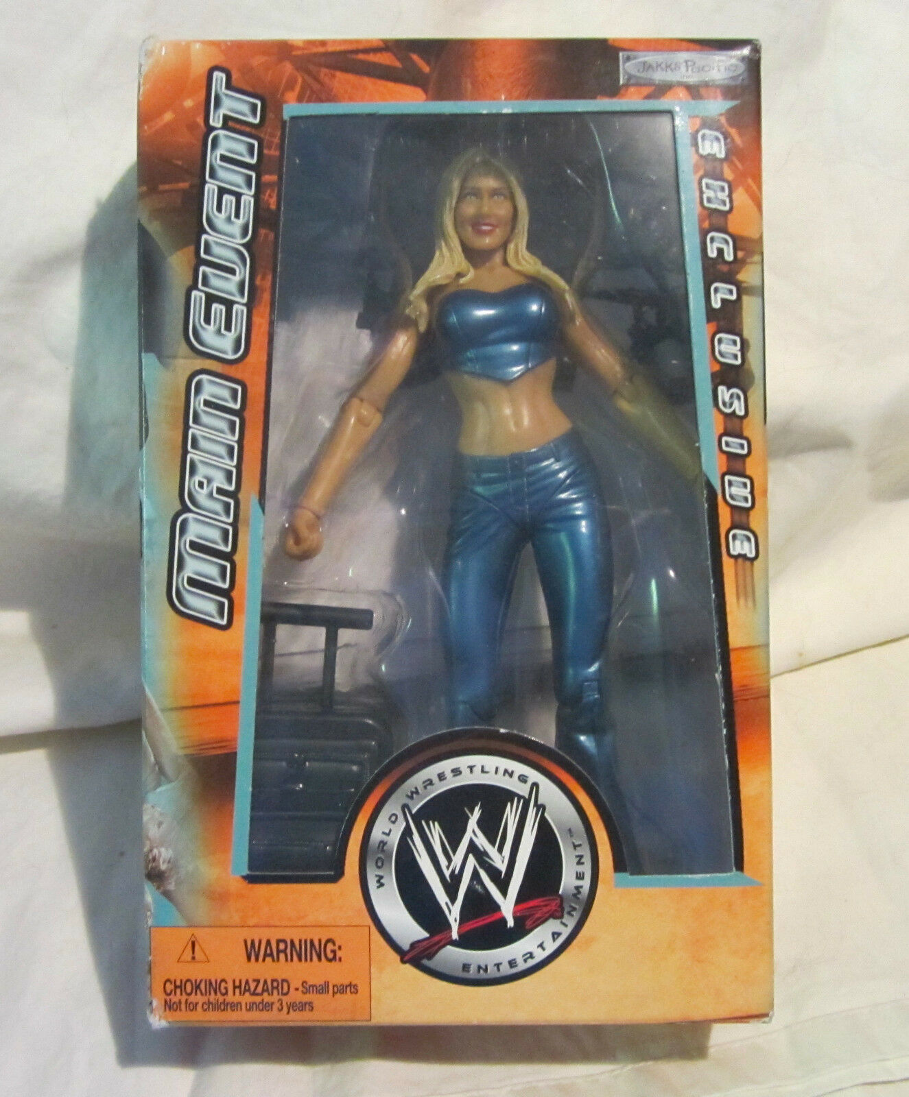 WWE Jakks Pacific Main Event Exclusive Action Figure Torrie Wilson BOXED