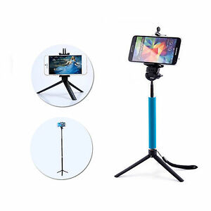Professional-Aluminium-Camera-Stand-Holder-Monopod-Tripod-For-Smart-Mobile-Phone
