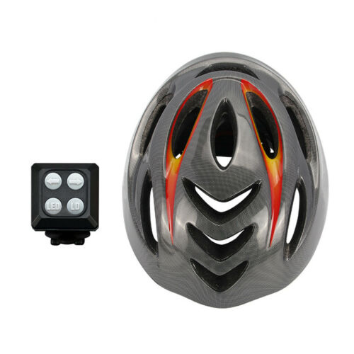 Smart Bike Helmet With Wireless Turn Signal Handlebar Remote USB Rechargeable