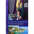 The Greek's Marriage Bargain by Sharon Kendrick (Hardback, 2014)