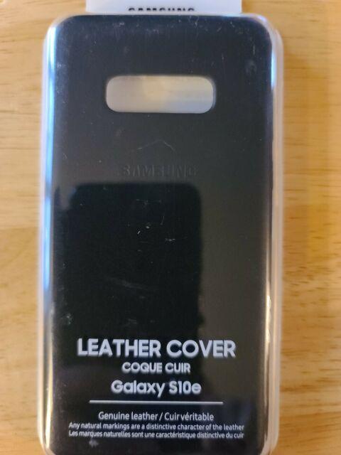 Samsung Galaxy S10e Leather Cover.