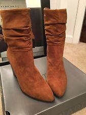 Apt 9 NEW $74.99 womans size 10 boots cognac brown shoes ankle b94