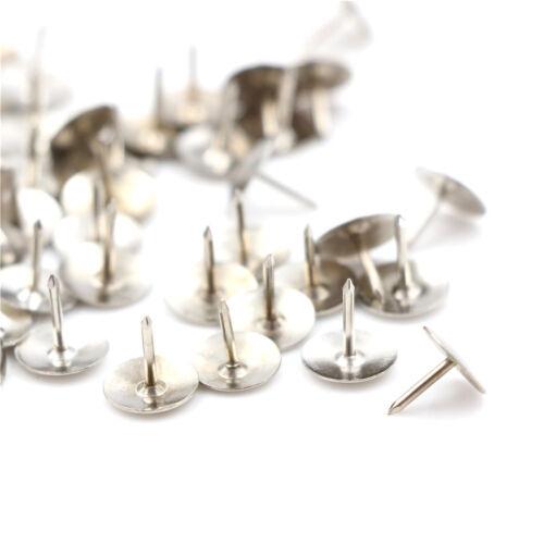 Silber 80 stücke Pins Daumen Reißzwecken Push Pins Bürobedarf Reißzwecke NicJMDE