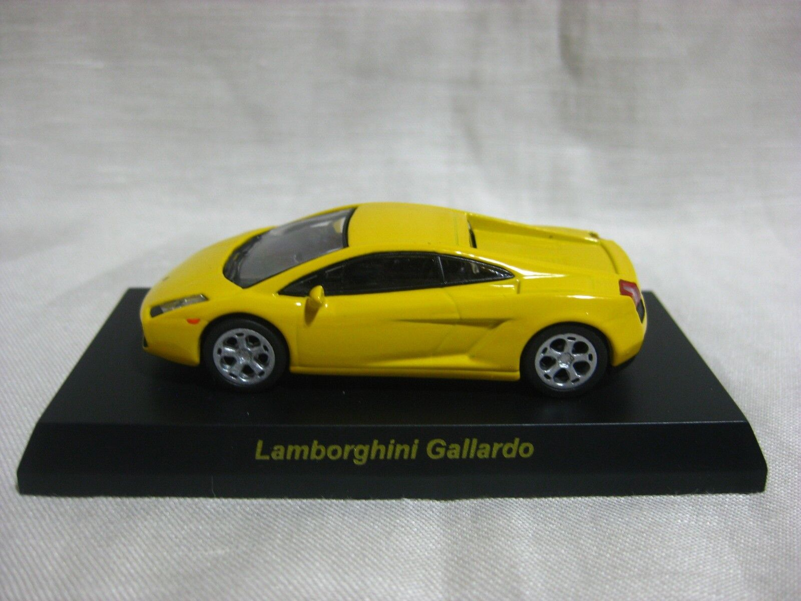 1 64 Kyosho Lamborghini Gallardo amarillo coche coche coche Modelo Diecast 865601