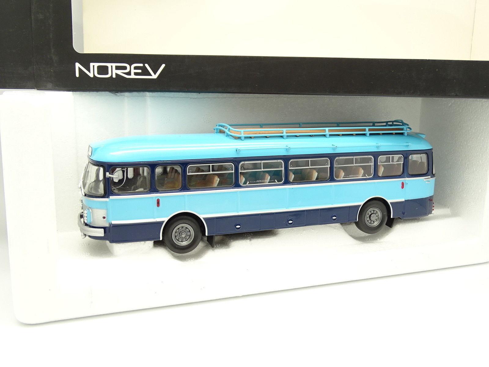 Norev 1/43 - Autobus Car Saviem SC1 Servizio Per la scuola 1964