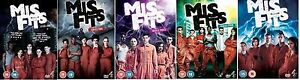 Misfits-TV-Series-1-5-Complete-Channel-4-All-37-Episodes-12Disc-New-Region-2-DVD