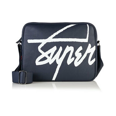 New Superdry Kayem Messenger Bag Navy