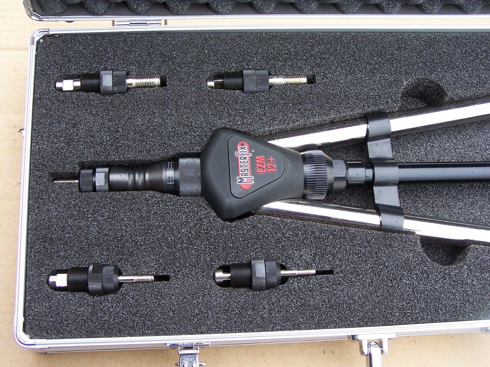 Über 400 Teile Nietmutternzange EZM12+ bis M12 Koffer O