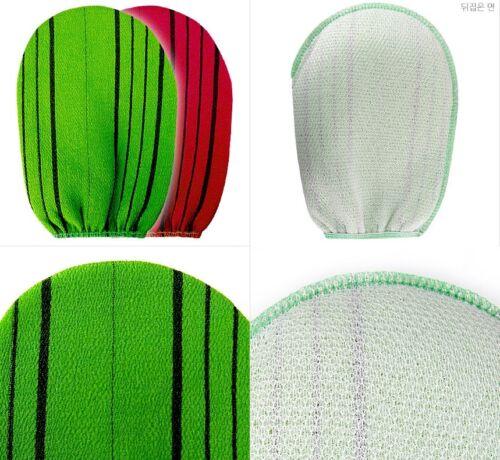 Korean Italy Exfoliating Bath Washcloths Body-Scrub Towel Glove Sponge 5PC