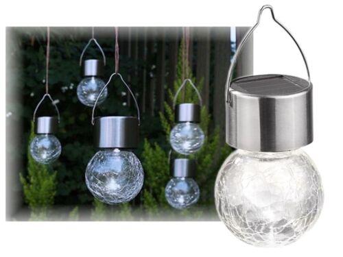 DEL Solaire Boule Lampe Solaire Lampe Boule suspensions Éclairage de jardin deco