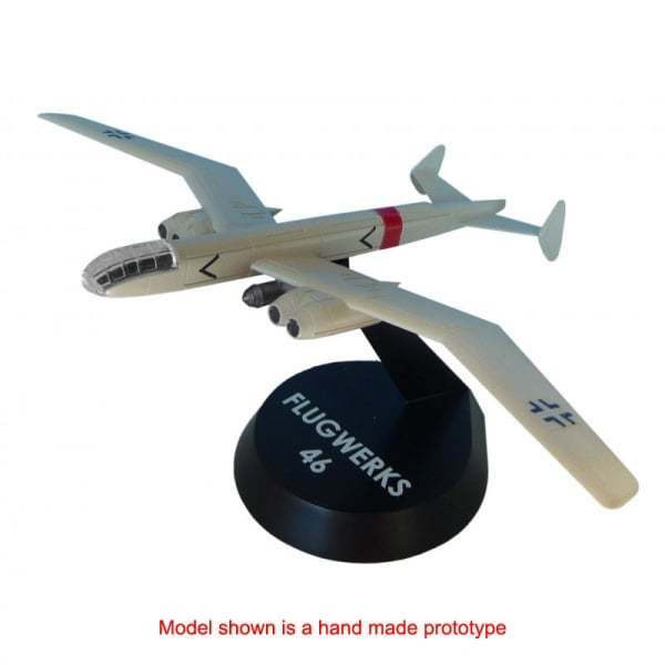 Innovation Aircraft Iabfw002 1 144 Blohm & Voss P 188.03 Bomber (Resin) Model