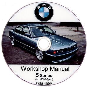 bmw 5 series e34 service workshop repair manual reparaturanleitung rh ebay com 1997 bmw 540i repair manual pdf 1998 bmw 540i repair manual