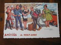 Carte postale de Chaperon Jean LE MONT DORE 63 Puy de Dome