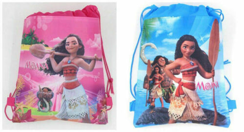 Moana Bag Swimming Clothes Environmental PE Toy Drawstring Backpacks