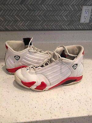 low priced 4adb5 9cbea Michael Jordan #23 XIV Men's Size 11 Black, White & Red Basketball Shoes |  eBay