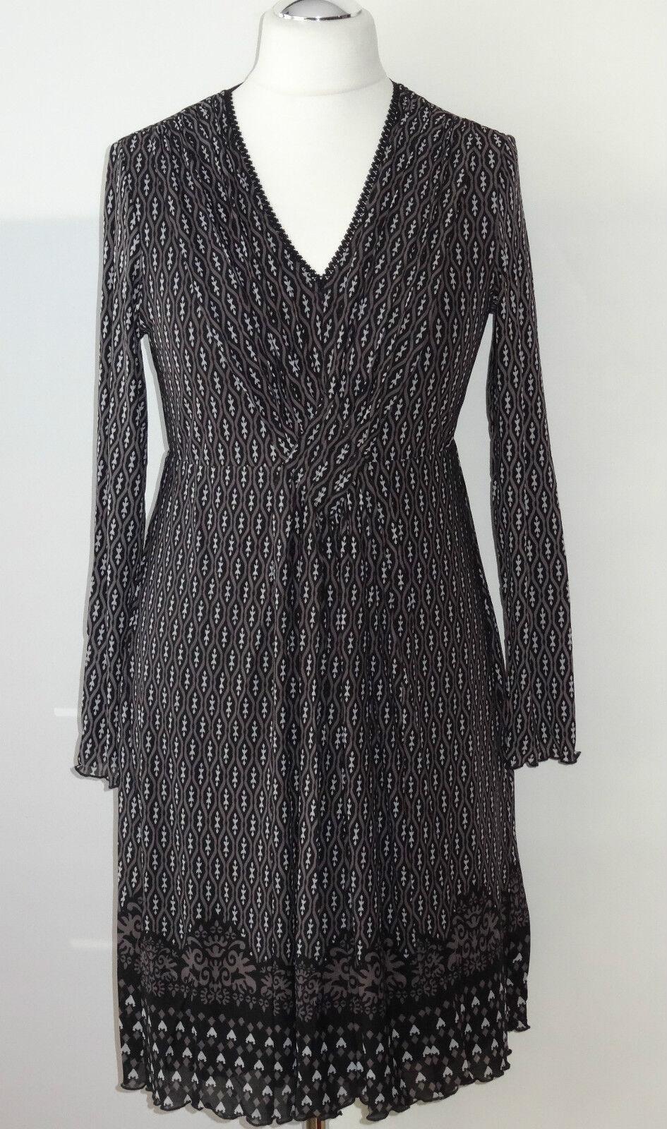 Taifun by Gerry Weber Etuikleid Gr 40 Kleid Damenkleid mit Stretch Viskosenkleid