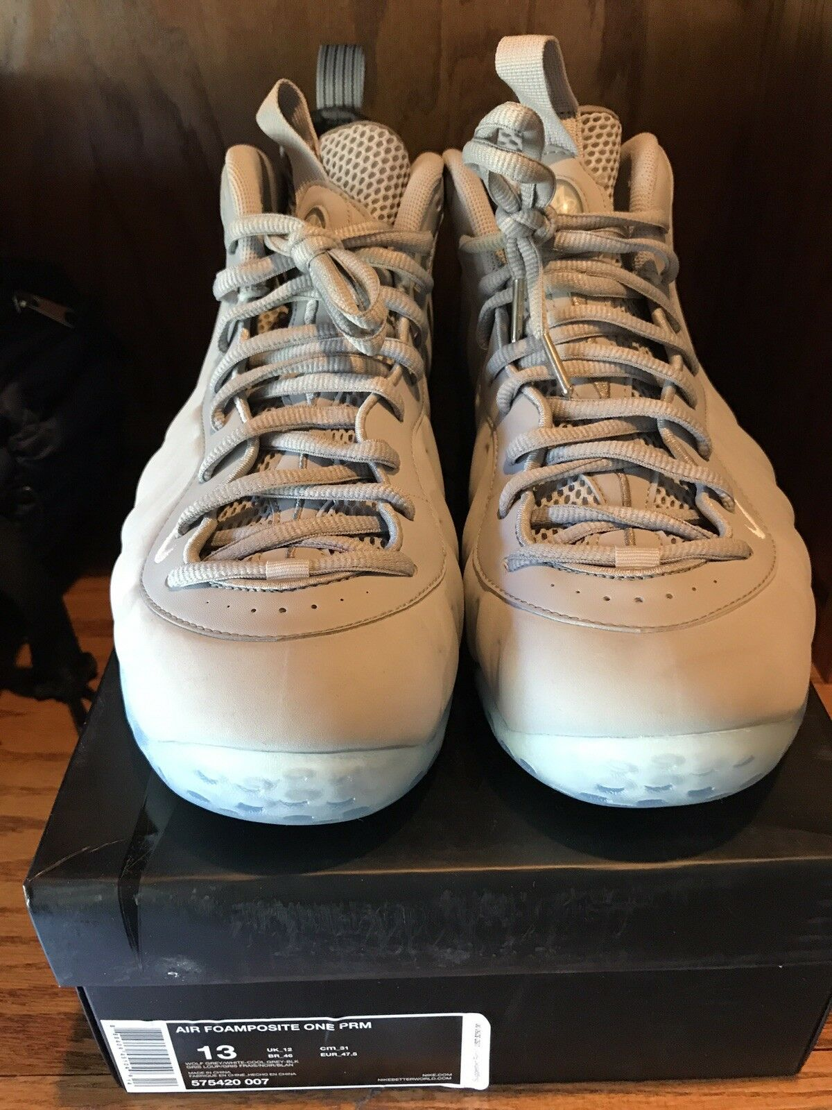 Nike Air Foamposite Grey Suede  Cheap and fashionable