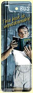 Nostalgic-Art-This-Libro-E-Unputdownable-Segnalibro-Targa-di-Latta-15-x-5