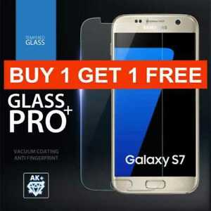 Clear-Screen-protector-for-samsung-galaxy-s7-tempered-glass-clear-9H-Protective