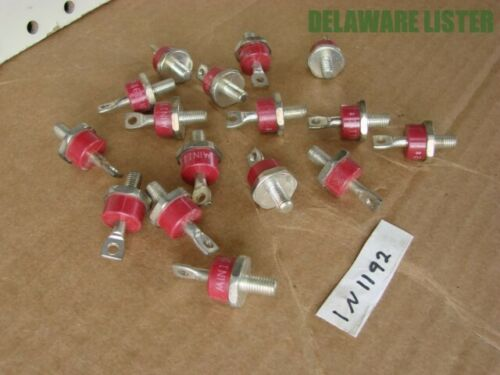 1x Motorola Red Rectifier Radio Equipment Electrical Diode SCR 1N1192 NOS New