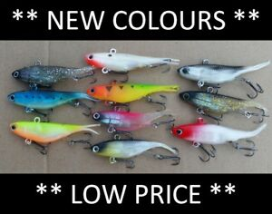 10 Vibe Soft Plastics Fishing Lures 80mm 90mm Mullet Barra Free Shipping Ebay Free shipping on low order. ebay