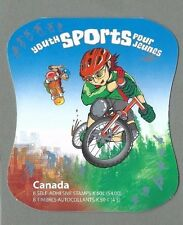 CANADA 2005 Booklet - YOUTH SPORTS - 8 x 50c. - Complete - MNH