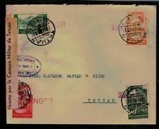 1937. TANGER A TETUAN (EDIFIL 133-134-136-137)