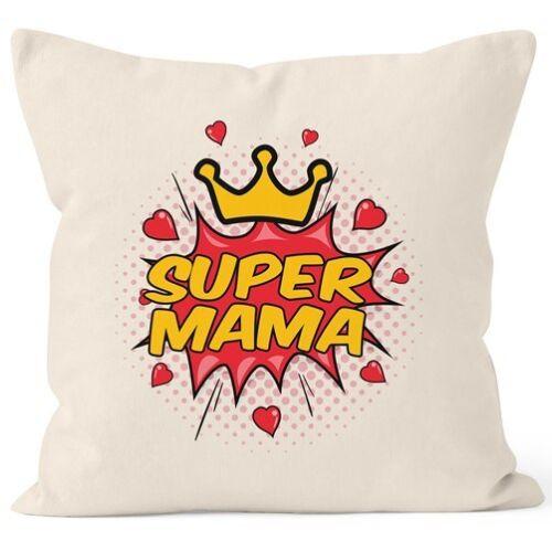 Taie d/'oreiller Super Maman Cadeau fête des mères Coussin-Housse DECO-Coussin 40x40