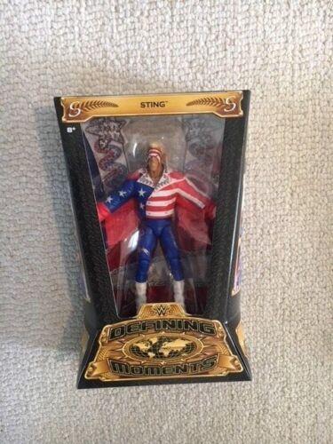 WWE MATTEL DEFINING MOMENT ELITE LOT Flair Ramon Hogan Cena Sting Macho Und MINT