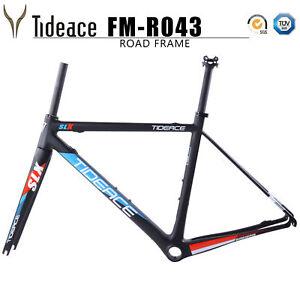 2018-NEW-Tideace-Carbon-Fiber-Road-Bike-Frames-700C-Bicycle-Frame-Fork-Seatpost