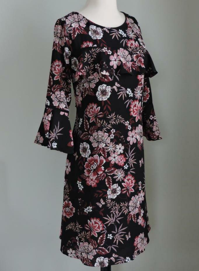 NWT JESSICA HOWARD Bell Sleeve Floral Printed Dress 18 (XXL)
