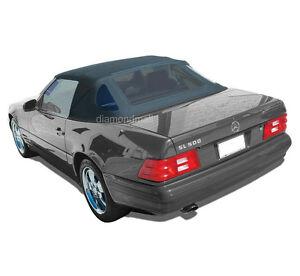 mercedes r129 sl convertible soft top 1990 2002 black. Black Bedroom Furniture Sets. Home Design Ideas