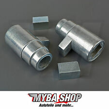 2x Armlehne reparatur Buchsen metall Hülsen VW T5 Multivan Transporter Links