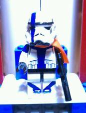 Lego Star Wars Commander Bow Custom  Stormtrooper 501st  Mini figure