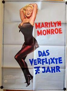VERFLIXTE-SIEBTE-JAHR-Kinoplakat-039-72-MARILYN-MONROE-TOM-EWELL