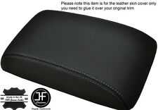 GREY STITCHING FITS VW SCIROCCO 2008+ LEATHER ARMREST COVER LEATHER