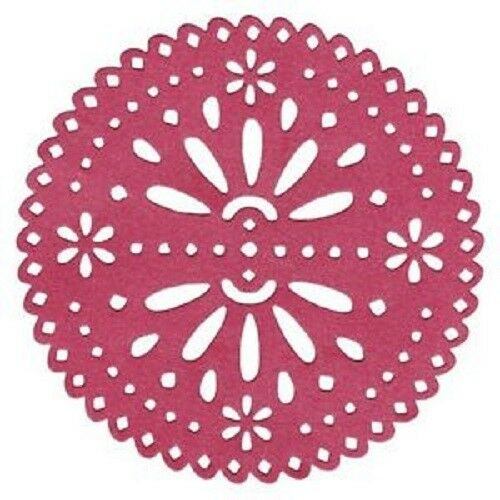 "Quickutz//Lifestyle Crafts DC-0348 /""Sunrise Doily/"" 1 CuttingDies Size 5/""x5/"" NEW"