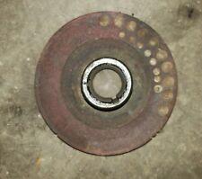 Farmall H Hv Early Sh Tractor Engine Crank Shaft Main Belt Pulley Ihc Part