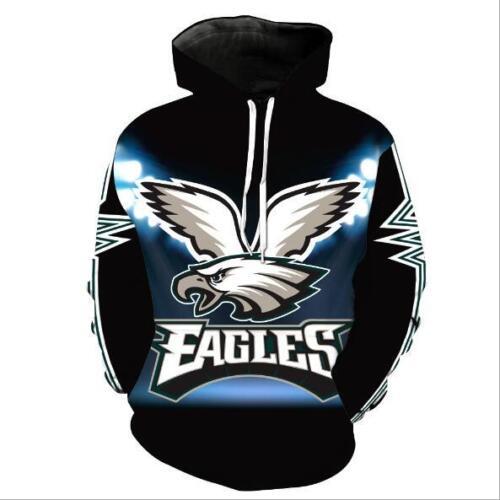 New Hat hoodie Philadelphia Eagles Letter print Pullover Pocket hoodie M-6XL 832