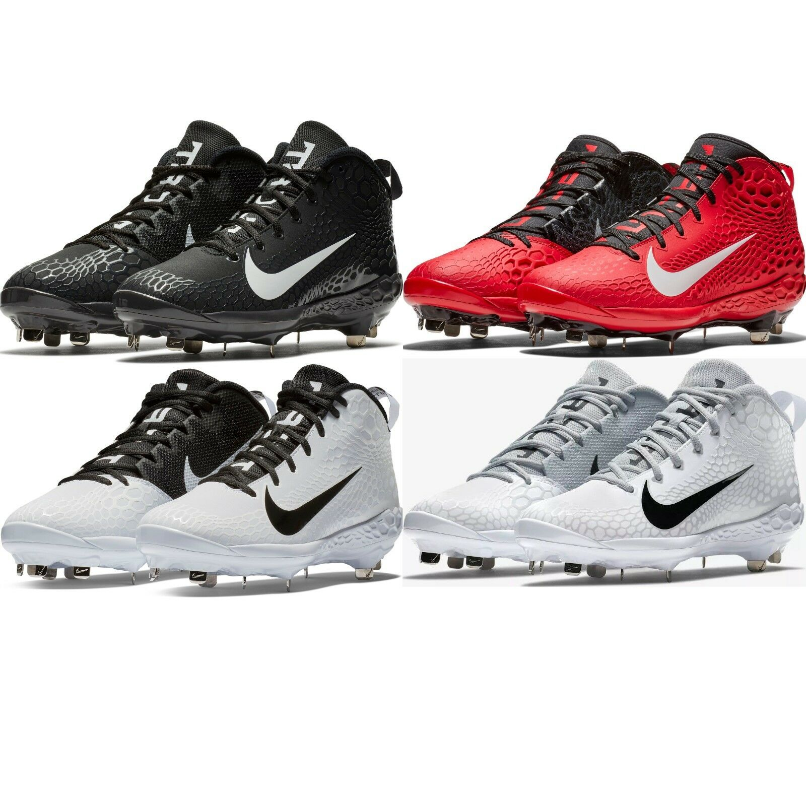 Nike Force Zoom Trout 5 Pro Men's Mid Metal Baseball Cleats Comfy shoes