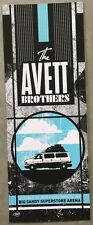 Avett Brothers poster Big Sandy Superstore Arena Huntington, WV 10/23/10 RARE