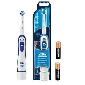 Details about BRAUN ORAL B ADVANCE POWER 400 ELECTRIC BATTERY POWERED TOOTHBRUSH DB4010