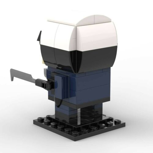 PDF INSTRUCTIONS ONLY Lego Brickheadz T-1000 Terminator MOC Creation