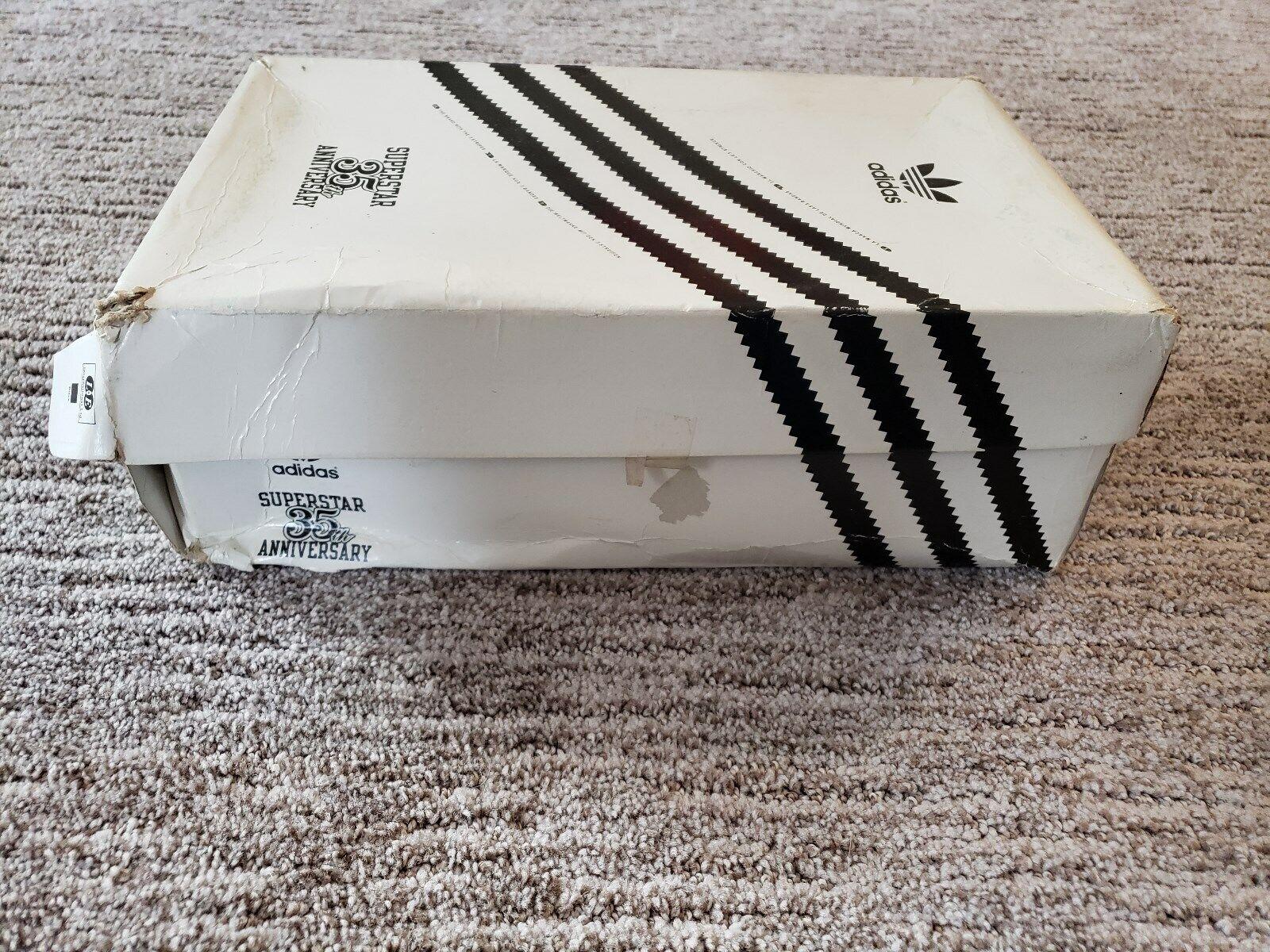 MINT 2004 Run DMC Adidas 35th Anniversary Superstar JMJ White Shell Top 9.5