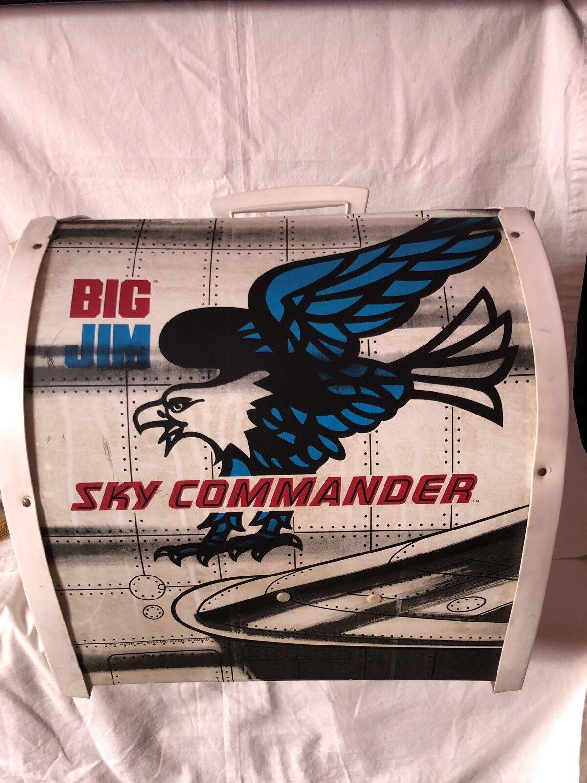 BIG JIM MATTEL SKY COMMANDER VINTAGE ANNI '80