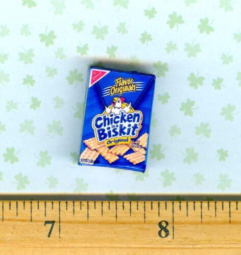 Dollhouse Miniatures Size Cracker BOX # cib