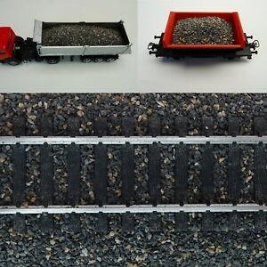 0,5 Kg Chute De Matières-ballast Du Ballast Gris/marron 1:87 H0 Grain 0,5-1,0mm 500 G-afficher Le Titre D'origine
