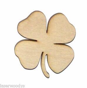 4-Leaf-Clover-Shamrock-Unfinished-Wood-Shape-Cut-Out-LC253-Lindahl-Woodcrafts