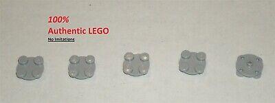 10x 4540203 Brick 3679 LEGO NEW 2x2 Light Bluish Grey Turntable Plate Top