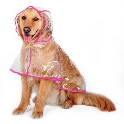 Dog Puppy Rain jacket  RainCoat Clothes waterproof small XL size big white